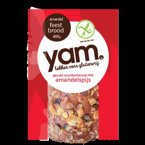 Feestbrood Met Amandelspijs (Vers) van Yam