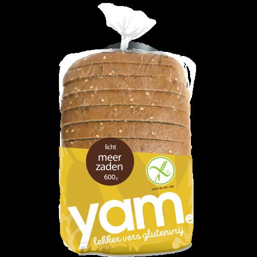 Licht Meerzaden Brood van Yam