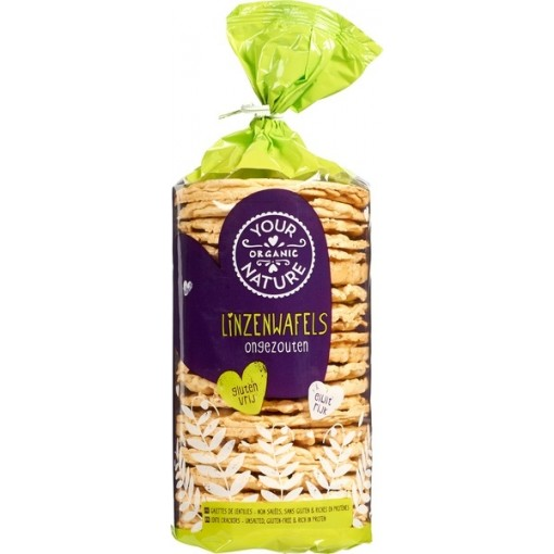 Linzenwafels van Your Organic Nature