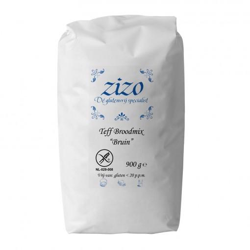 Teff Broodmix Bruin van Zizo