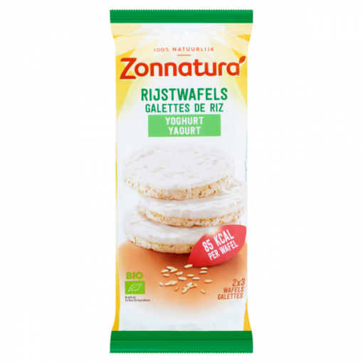 Rijstwafels Yoghurt van Zonnatura