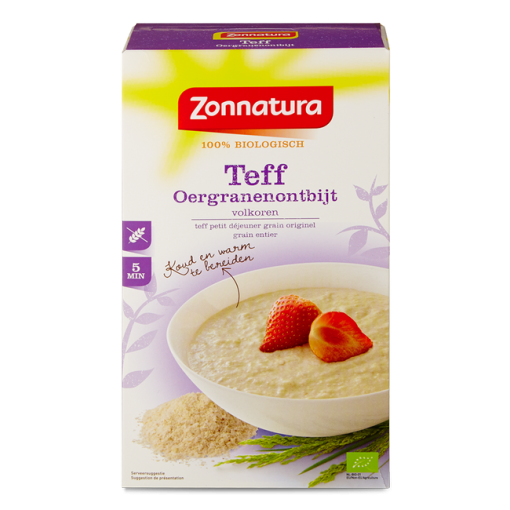 Teff Oergranenontbijt van Zonnatura