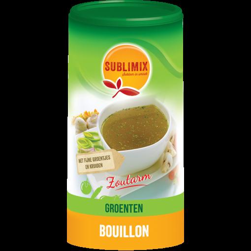 Groentebouillon Zoutarm 260 gram van Sublimix