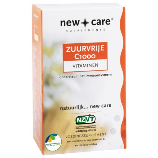 Zuurvrije C1000 30 Tabletten van New Care
