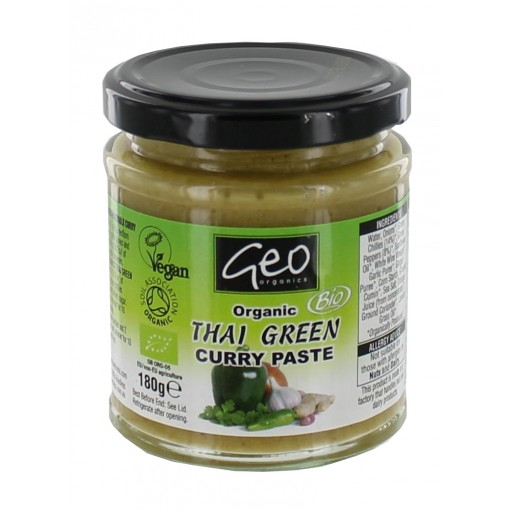 Geo Organics Thai Green Curry Paste