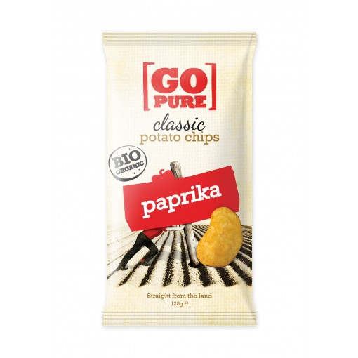GoPure Aardappelchips Paprika