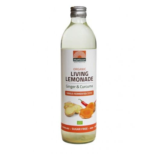 Living Lemonade Gember & Curcuma