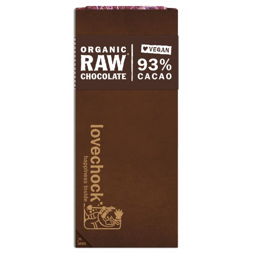 Lovechock Chocoladetablet 93% Cacao