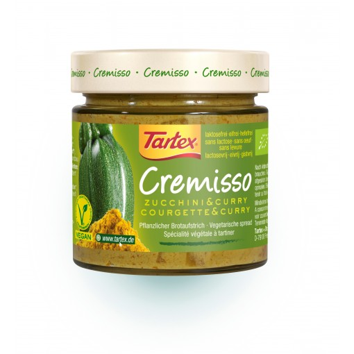 Tartex Cremisso Courgette Curry