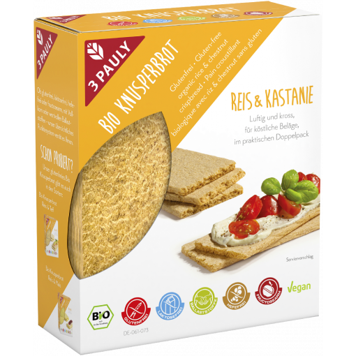 3Pauly Cracker Rijst & Kastanje