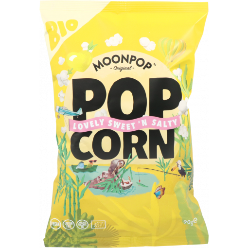 Moonpop Popcorn Lovely Sweet 'N Salty 90 gram