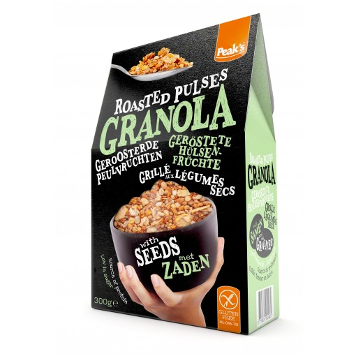 Peak's Granola Roasted Peulvruchten & Zaden