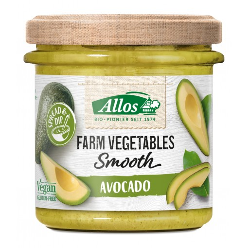 Allos Groentespread Smooth Avocado