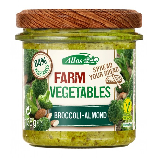 Allos Groentespread Broccoli Amandel (T.H.T. 10-11-19)