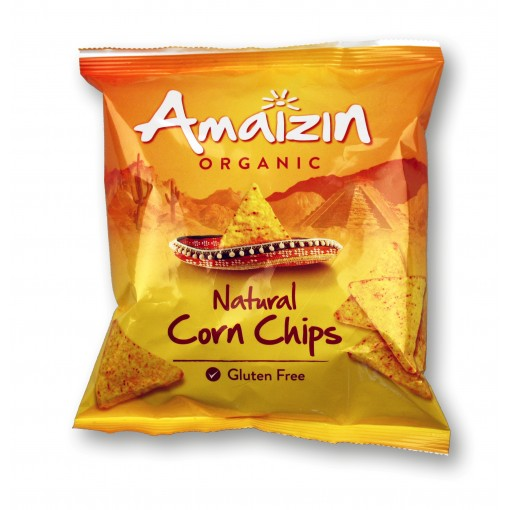 Amaizin Corn Chips Naturel 75 gram