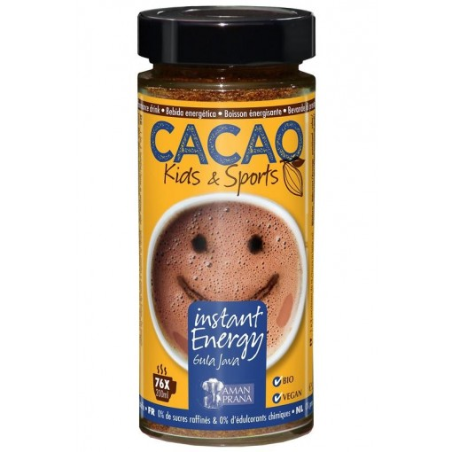 Aman Prana Instant Energy Cacao Kids & Sports