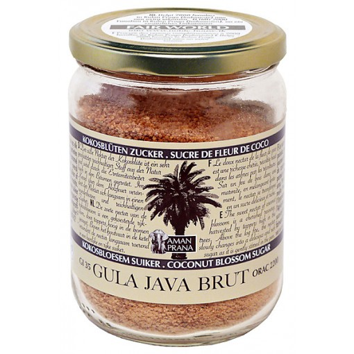 Aman Prana Gula Java Brut Kokosbloesemsuiker 370 gram