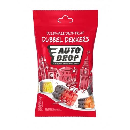 Autodrop Drop Fruit Dubbel Dekkers Zakje 85 gram