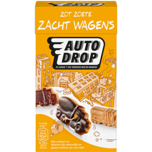 Autodrop Zacht Wagens Mixdoos