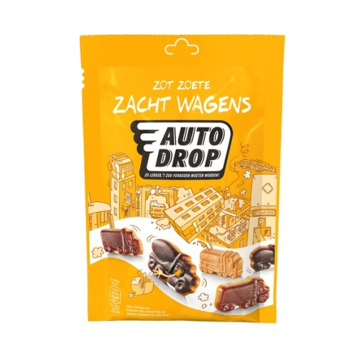 Autodrop Zacht Wagens Zakje 158 gram