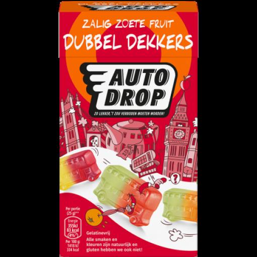 Autodrop Zoete Fruit Dubbel Dekkers Mixdoos