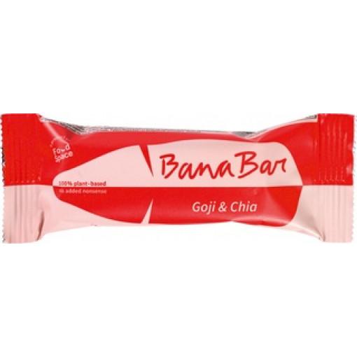 BanaBar Goji & Chia Banana Bar