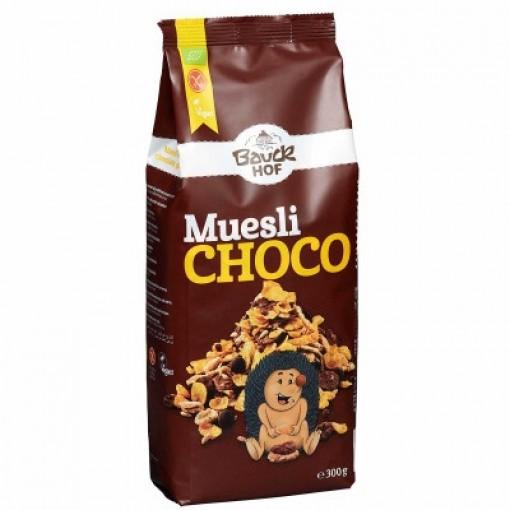 Bauckhof Krokante Muesli Chocolade