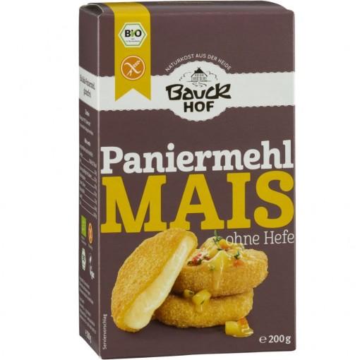 Bauckhof Mais- Paneermeel Zonder Gist