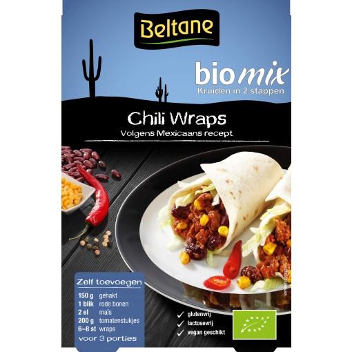 Beltane Chili Wraps