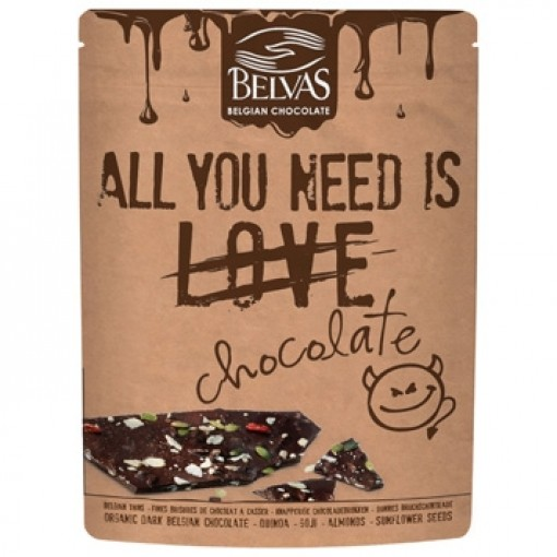Belvas All You Need Is Love Chocolate