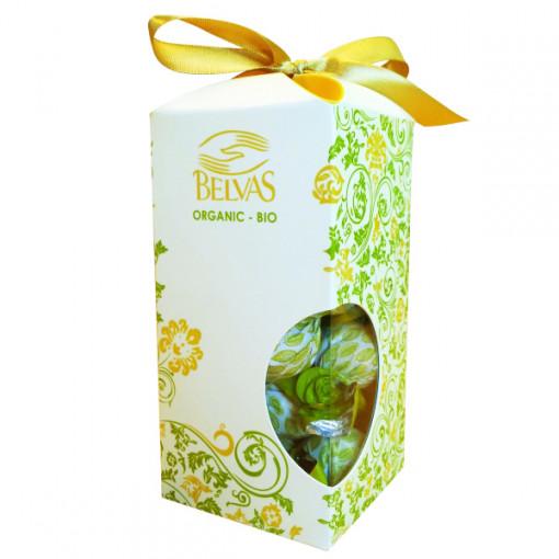 Belvas Twist Balls Pasen 72% Dark Chocolate