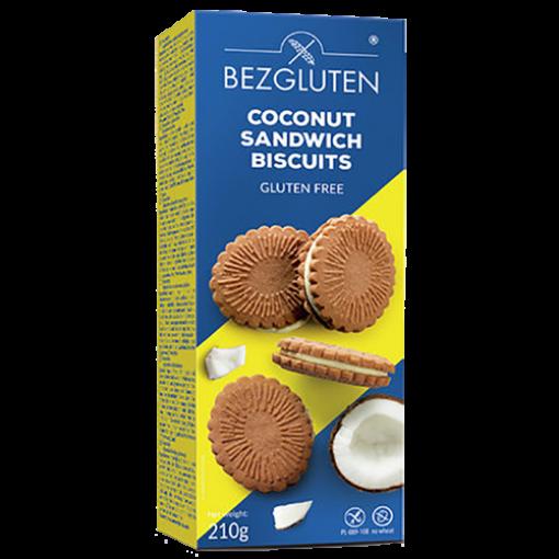 Bezgluten Coconut Sandwich Biscuits