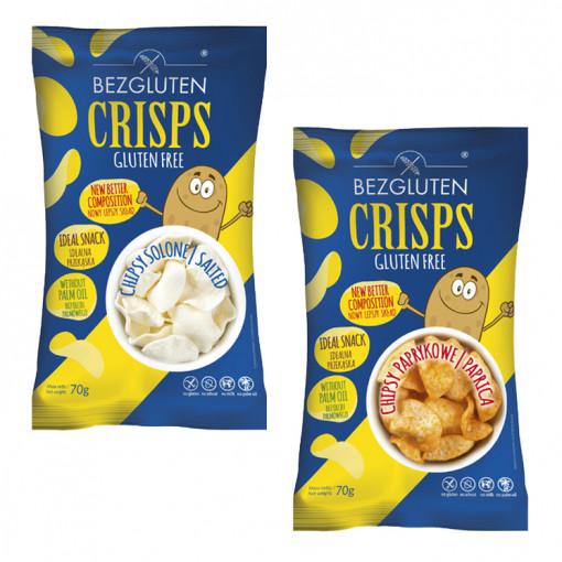 Bezgluten Crisps Proefpakket (2 soorten)