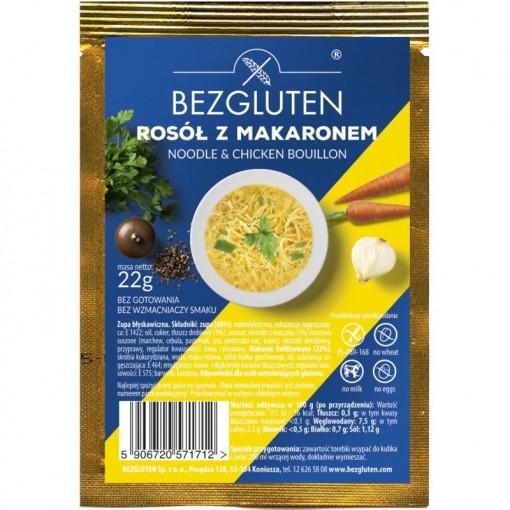 Bezgluten Kippensoep met Noodles