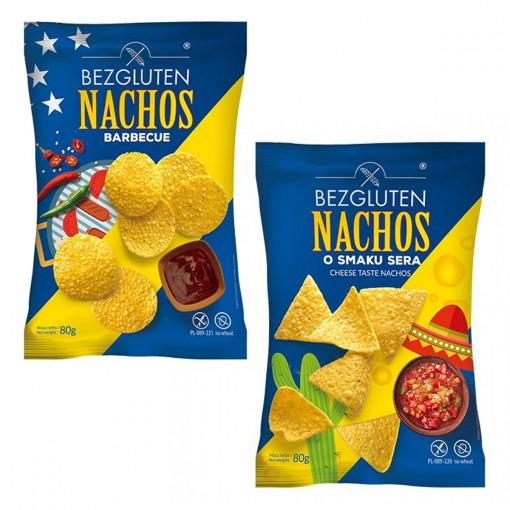 Bezgluten Nachos Proefpakket (2 smaken)