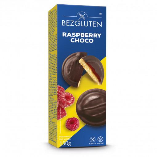 Bezgluten Raspberry Choco Biscuits