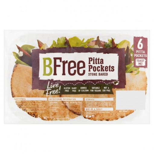 BFree Pitabroodjes Pocket (6 stuks) (T.H.T. 11-08-20)
