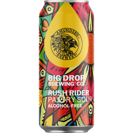 Big Drop Brewing Co. Rush Rider Pastry Sour Alcoholvrij 0.5%