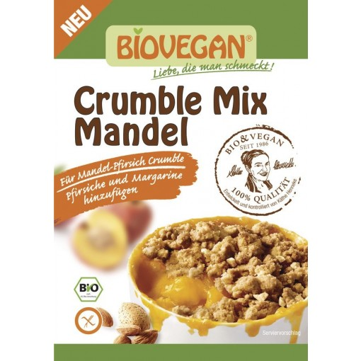 Bio Vegan Crumble Mix Amandel