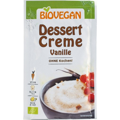 Bio Vegan Dessert Crème Vanille