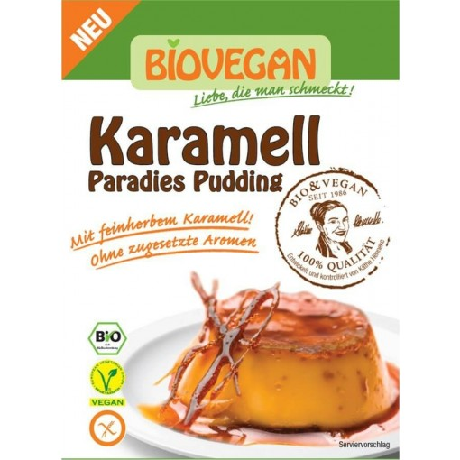 Bio Vegan Karamel Pudding