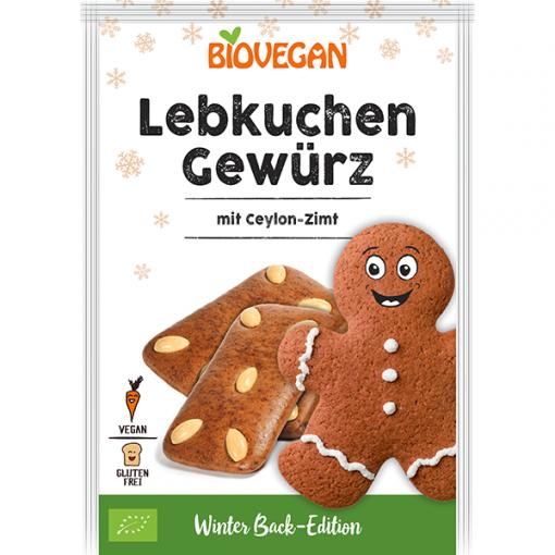 Bio Vegan Lebkuchen Kruiden