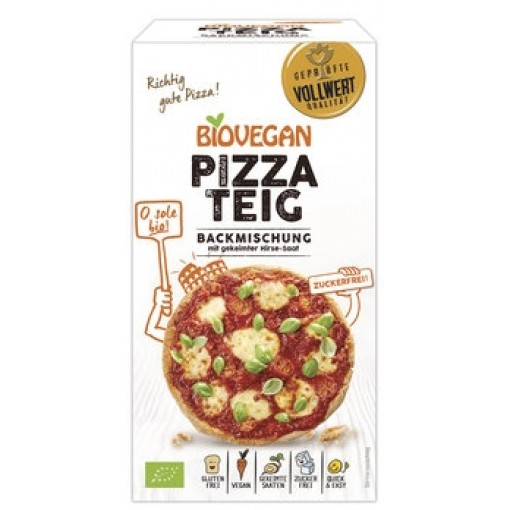 Bio Vegan Mix Voor Pizzabodems