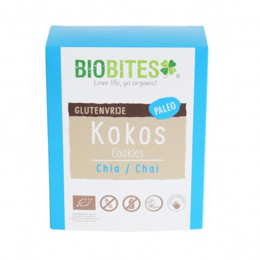 Biobites Kokoskoekjes Chia-Chai