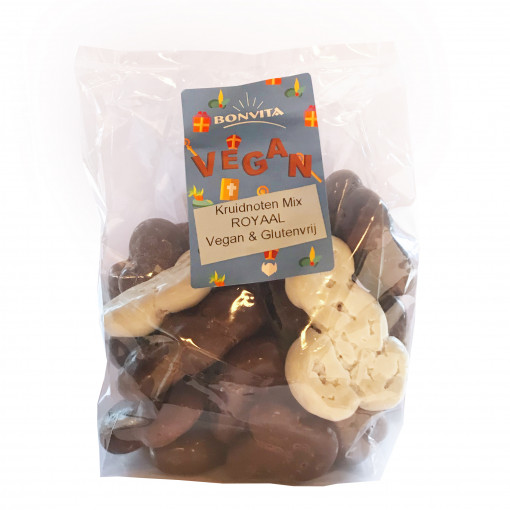 Bonvita Vegan Chocolade Kruidnoten Mix Royaal