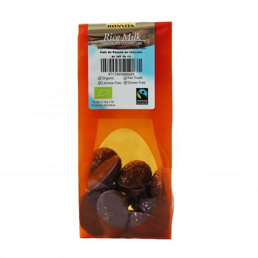 Rijstmelk Chocolade Paaseitjes