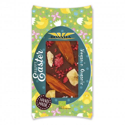 Bonvita Vegan Chocoladetablet Banaan Mango & Framboos