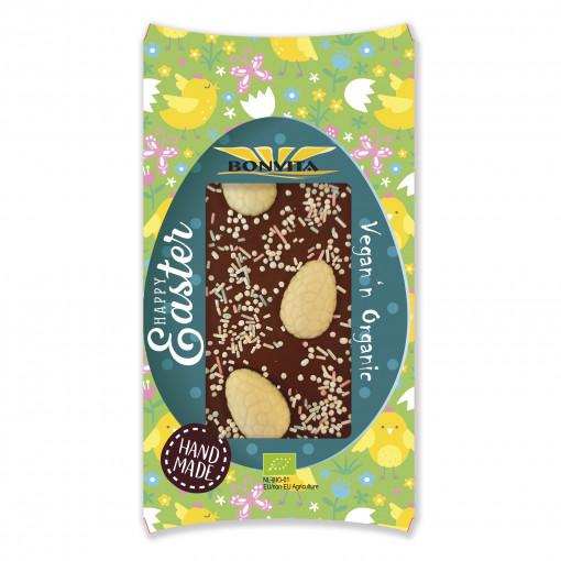 Bonvita Vegan Chocoladetablet Witte Eieren & Hagelslag