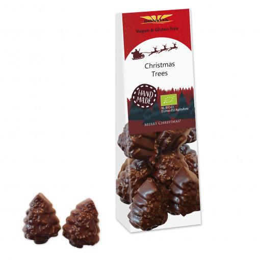 Bonvita Vegan Chocolade Kerstboompjes Melk