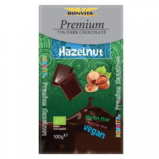 Bonvita Premium Chocoladetablet Hazelnoot